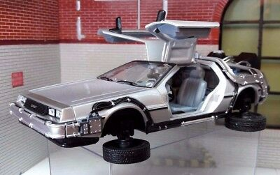 £29.93 • Buy 1:24 Scale Delorean Back To The Future 2 Transforming Flying Version Model Car