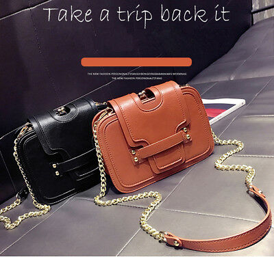 Fashion Women's Quality Faux Leather Handbag Shoulder Bag Cross Body Tote K44A • 17.99£