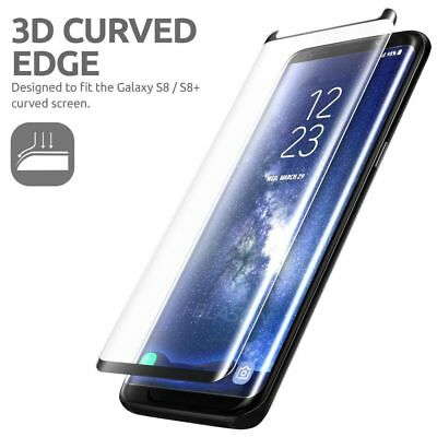 $ CDN3.19 • Buy Galaxy S8 / Plus 3D Case Friendly Tempered Glass Screen Protector For Samsung DC