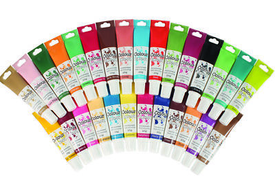 Colour Splash Concentrated Food Colouring Gel 25g Tube,Decoration, Colour Icing • 2.65£