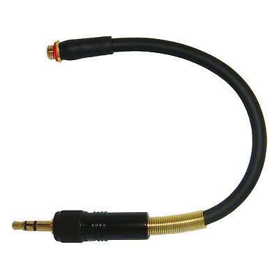 MICROPHONE ADAPTER FOR DPA COUNTRYMAN MICRODOT TO SONY 3.5mm SCREW ON JACK PLUG • 24.99£