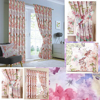 £13.50 • Buy Blossom Pencil Pleat Thermal Blackout Curtains (Pair Of) - NOW £8, £10 & £15