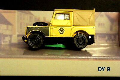 Matchbox The Dinky Collection, Car, 1949 Landrover, Yellow, DY9-B, New. • 12.50£