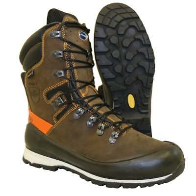 Lavoro Elite Waterproof Nu-Buck Leather Chainsaw Boots Class 2 All Sizes • 149£