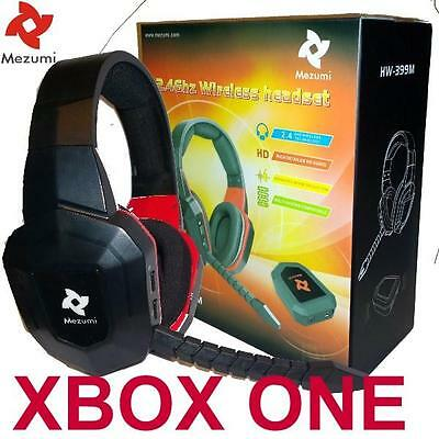 AU72.45 • Buy Wireless Gaming Stereo Headset For XBox One Game Sound Chat NEW Fast Shipping GD