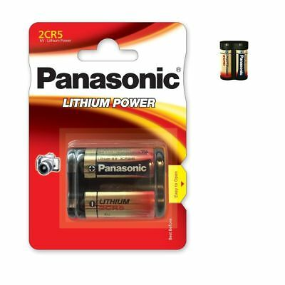 AU16.14 • Buy Battery Special Photo 2CR5 6V Lithium Panasonic