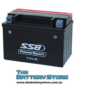 AU67 • Buy AGM Battery YTX9-BS For Suzuki GSXR 600 650 750 Bandit Katana DR650SE KTM LC4