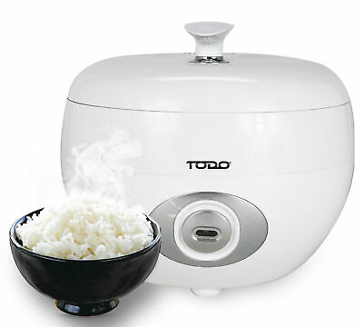AU45 • Buy Todo 1.2l Rice Cooker 6 Cup Capacity 500w Steam Tray Spoon Cup Keep Warm