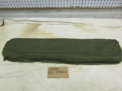 $40 • Buy Jeep Willys M38 M38A1 NOS Rear Seat Back Cushion Late Coil Style Springs