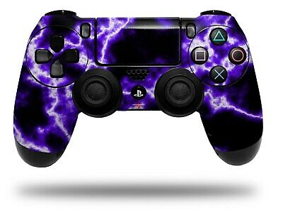 AU14.84 • Buy Skin For Playstation 4 Sony PS4 Controller Electrify Purple