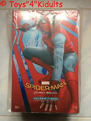 AU1005.58 • Buy Hot Toys MMS 414 Spider-Man Homecoming (Homemade Suit Version) Peter Parker NEW