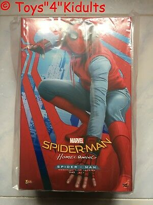 $ CDN827.16 • Buy Hot Toys MMS 414 Spider-Man Homecoming (Homemade Suit Version) Peter Parker NEW