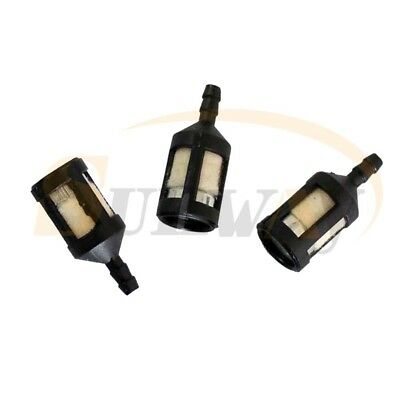 3× Fuel Tank Filter Fit Mcculloch Mac Cat 335 435 440 Partner 350 351 Chainsaw • 4.68£
