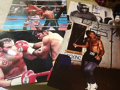 £11.99 • Buy Various Signed Boxing Photos (A). Champs & Challengers 10x8, 12x8 COA