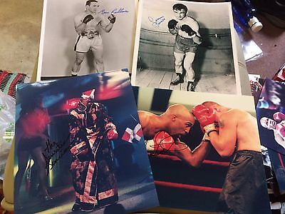 £11.99 • Buy Various Signed Boxing Photos (B). Champs & Challengers 10x8, 12x8 COA