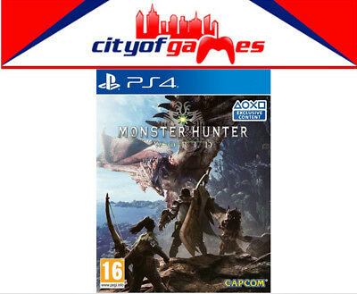AU39.95 • Buy Monster Hunter World PS4 Game New & Sealed In Stock