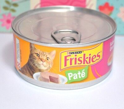 Friskies- Wet-Cat-Food-Classic-Pate-Salmon-Dinner 1pc Date 2021 • 7.87£