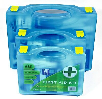 £14.11 • Buy Kitchen CATERING FIRST AID BOX Kit 1-50 Persons 3 Premier Boxes Available