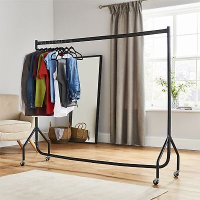 £29.99 • Buy 6ft Heavy Duty Clothes Rail Home Shop Garment Hanging Display Stand Rack