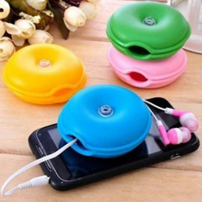 $6.86 • Buy High Quality Box Turtle Lovely Organizer Holder Wire Cable Winder Headphone