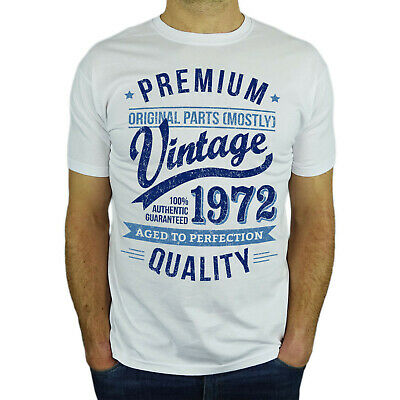$ CDN28.16 • Buy Premium Vintage Year T-Shirt - 50th Birthday Gift Present For Men Him - New