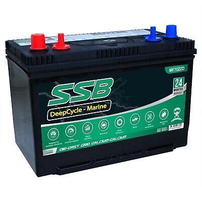 AU210 • Buy 12v 110ah Deep Cycle Battery Maintenance Free Caravan 4wd Marine N70zz