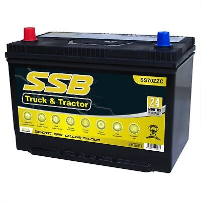 AU195 • Buy 12v 820cca Calcium Battery Maintenance Free Caravan 4wd Truck N70zz