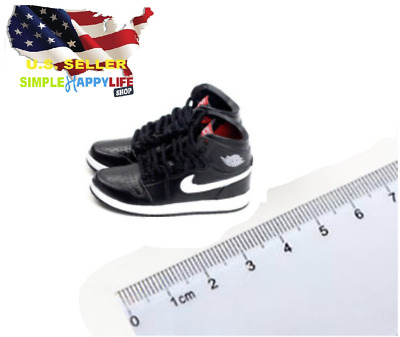 $17.84 • Buy 1/6 Male BLACK Sneakers Basketball AJ Shoes 12  Hot Toys Phicen Enterbay ❶USA❶