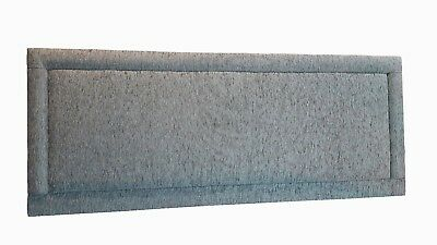 5ft King Size 24  Square Bumper Chenille Fabric Headboard With Free Delivery  • 43.99£