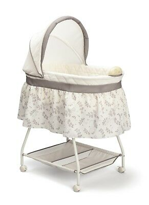 $69.79 • Buy Reborn Baby Crib Bedside Bassinet Co Sleeping Bed For  Stand Universal Skirt