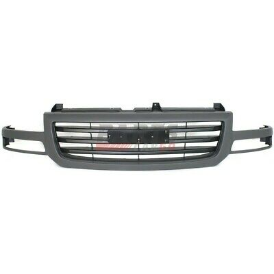 $154.85 • Buy New Front Grille Textured Gray Finish Fits 2003-2006 Gmc Sierra 1500 19130790