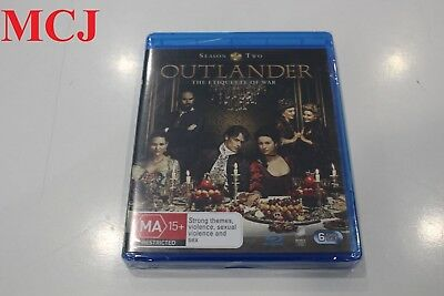 AU49 • Buy Brand New - Outlander Season 2 Blu-ray Region Free