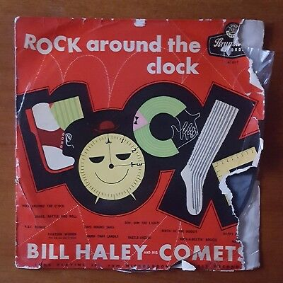 LP Bill Haley And His Comets 'Rock Around The Clock' Brunswick 1956 VGC • 12.50£