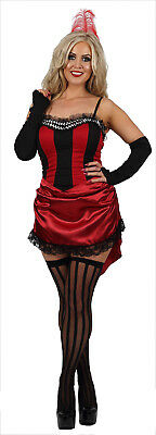 £15 • Buy Womens Sexy Burlesque Wild West Showgirl Can Can Fancy Dress Costume Outfit (FP)