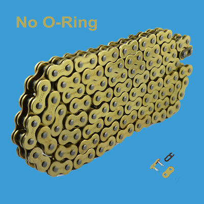AU31.58 • Buy Chain 520 X 120 Gold Color Without O-ring Fit:Honda , Kawasaki , KTM