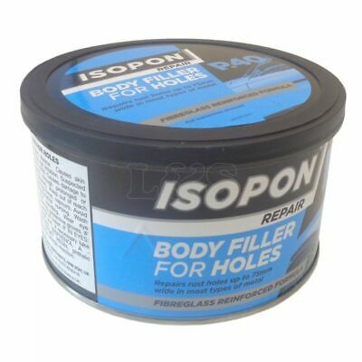 P40 Body Filler For Holes Repair Paste Fibreglass Reinforced Formula 250ml • 18.83£