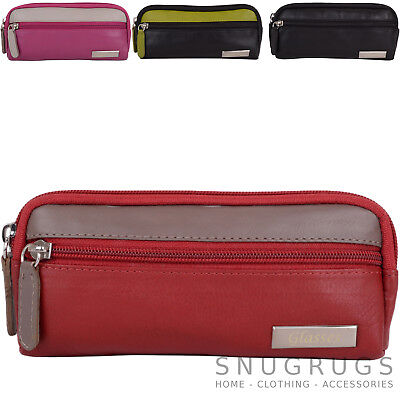 Ladies / Womens Soft Leather Glasses / Spectacle Case / Pouch / Holder • 11.49£