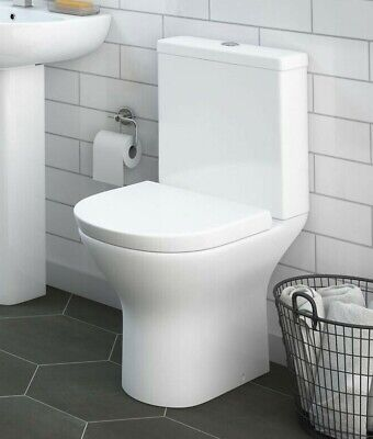£135 • Buy  Short Projection Compact WC Toilet, Cistern & Soft Close Seat (1001)