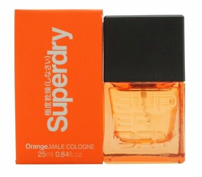 Superdry Orange Cologne 25ml Spray - Men's For Him. New. Free Shipping • 16.71£