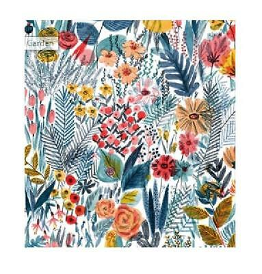 £2.99 • Buy 1 Sheet Of Luxury Garden Flowers Gift Wrap Wrapping Paper Museums & Galleries