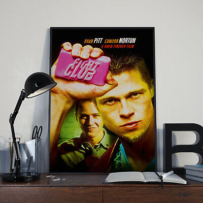 £7.90 • Buy Fight Club -  Movie Film Poster Print Picture A3 A4