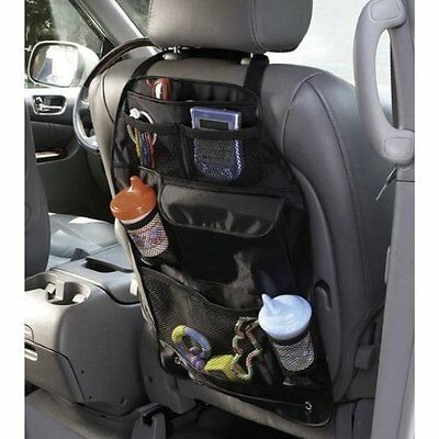 $6.98 • Buy Auto Car Back Seat Organizer Storage Multi-Pocket Bag Car Accessories Bag Holder