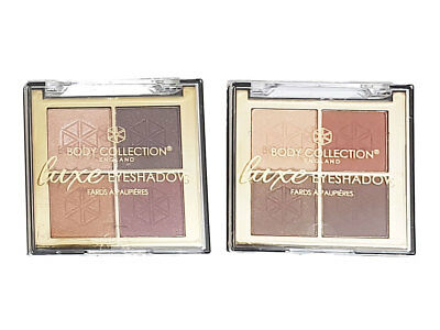 Body Collection Luxe Quad Eyeshadow Palette Set Kit • 2.99£