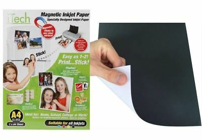 £2.47 • Buy A4 Gloss Magnetic Photo Paper Suitable For All Inkjet Printers