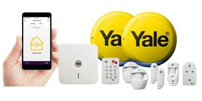 Yale Smart Home Burglar Security Premium Wireless Alarm Kit Accessories Camera • 34.90£