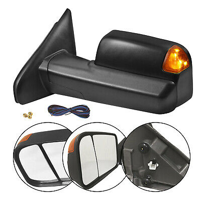 $96.83 • Buy New Driver Side Power Heated Tow Mirror For Dodge Ram Truck 2002-2009