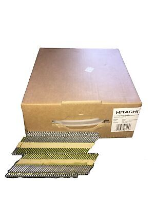 Hitachi Collated Nails 1st Fix Galvanized 705613 90mm X 3.1mm (2200 Nails)Smooth • 39.99£