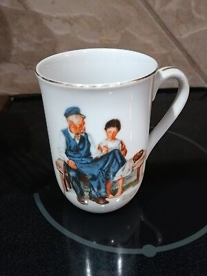 $ CDN9.94 • Buy VTG 1982 Norman Rockwell Museum Inc.  The Lighthouse Keeper's Daughter  Cup Mug