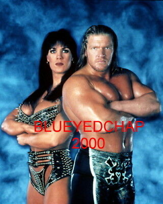 $ CDN12.67 • Buy Chyna Girl Wrestler & Triple H 8 X 10 Wrestling Photo Wwf