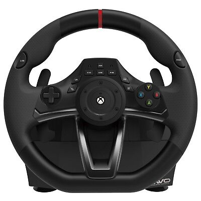 $118.01 • Buy Steering Wheel Xbox One Controller Microsoft For Gaming Pedals Driving Racing